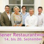 Wiener Restaurantwoche Herbst 2015: Top-Gastronomie zu Spitzenpreisen ab Mitte September