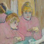 Juliette Greco eröffnet Kunstausstellung