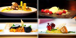 Das Oskars Restaurant bietet Genuss für Augen und Gaumen zugleich