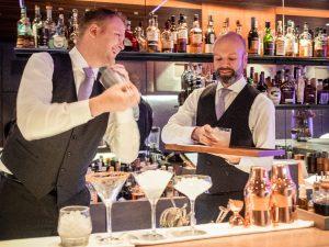 Jan Pavel und Barchef Markus Hörmann