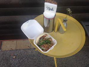 Mochi Ramen Bar: Pulled Pork Bun
