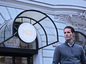 Patrick Proger vor dem PACO