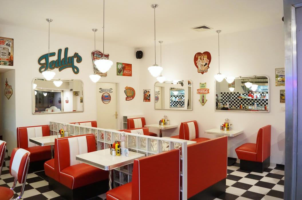 teddy 39 s american diner gastro news wien. Black Bedroom Furniture Sets. Home Design Ideas