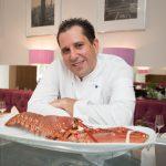 Ante Makelja Chefkoch im Fischrestaurant Vikas am Wildpretmarkt im Gespräch