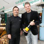 Top-Gastronom Michael Dvoracek eröffnet Winterschanigarten seines Amterls