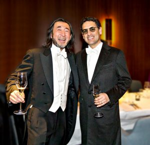Inhaber Joji Hattori und Juan Diego Flórez - © SHIKI