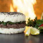 Sticky-Rice Burger im Spear