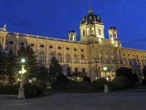 Kunsthistorisches Museum Wien bei Nacht
