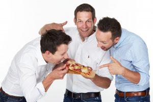BistroBox-Founder JŸürgen Traxler, Klaus Haberl und David Kieslinger (v.l.n.r.). (c) BistroBox GmbH