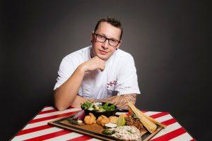 Küchenchef David Svarc