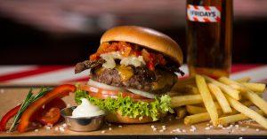 Littly Italy: einer der neuen Burger im TGI Fridays