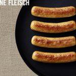 Premium-Genuss mit den Hermann Fleischlos Rostbratwürstchen auf Pilzbasis