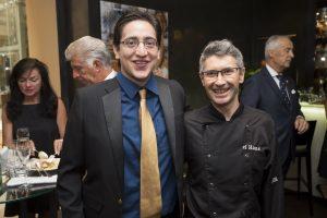 Restaurantleiter Leo Gabriel und Küchenchef José Corpas beim Kick Off Event zur Wiener Restaurantwoche (c) Culinarius/Hörmandinger