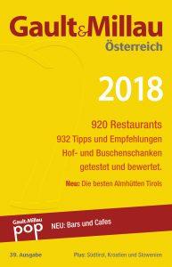 Restaurantführer Gault&Millau 2018 (c) Gault&Millau