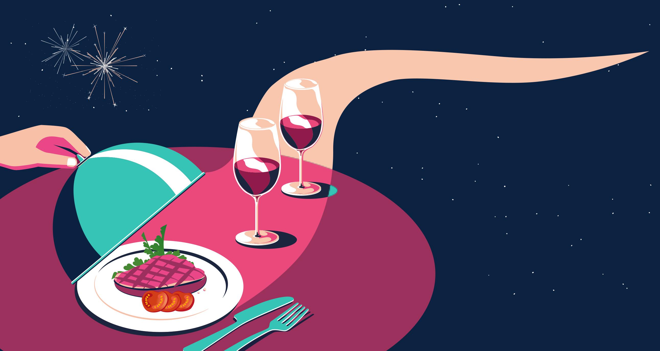 Französische Restaurantwoche