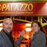 Spektakuläre Dinner-Show Palazzo im Spiegelpalast